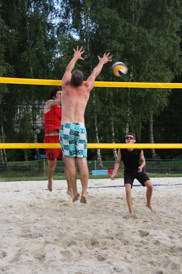 Beach-Ball-Boy in Freiberg unterwegs